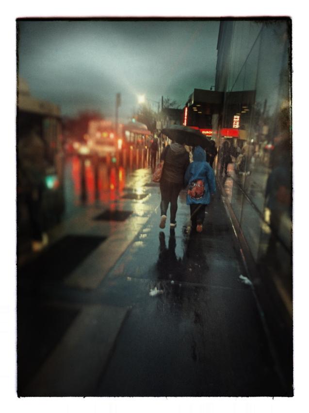 Rainy day Jamaica Queena Rolleiflex